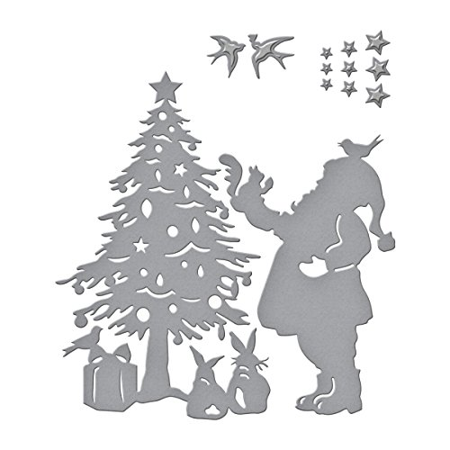 Spellbinders Shapeabilities Deck The Halls by Sharyn Sowell Etched/Wafer Thin Dies ()