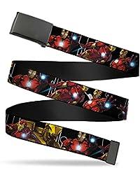 Buckle-Down Web Belt Iron Man 1.5
