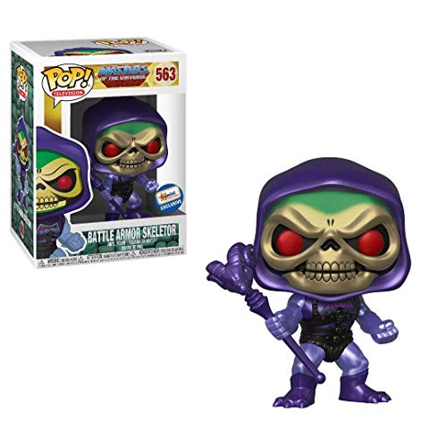 - Funko POP! Masters The Universe, Metallic Battle Armor Skeletor Exclusive