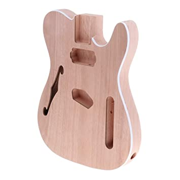 B Blesiya 1 Pieza Cuerpo de Guitarra Eléctrica de Bricolaje Accesorio de Regalo para Niños
