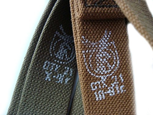 Sling Standard Nylon (Made in USSR Soviet Russian Army Standard sling With DEER Head Stamp RARE AK 47/74 AKS AKMS AKM RPK canvas Sling For Kalashnikov rifle and other)
