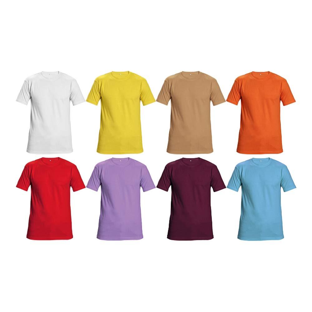 100 St/ück 55 M Petrolblau CERVA 0304 0046 T-Shirt TEESTA Medium