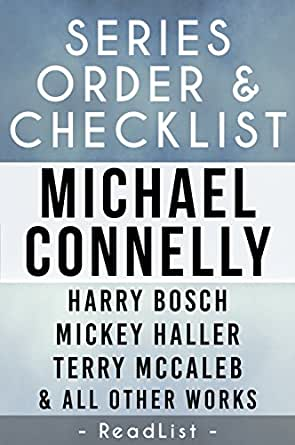 Michael Connelly Series Reading Order & Checklist: with