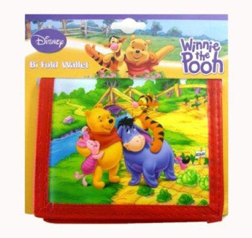 Disney Winnie the Pooh Bi-Fold Child Wallet - Pooh Wallet