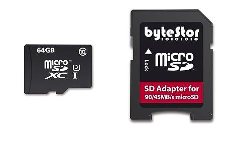 Bytestor 64 GB tarjeta de memoria Micro SD Action Cam ...