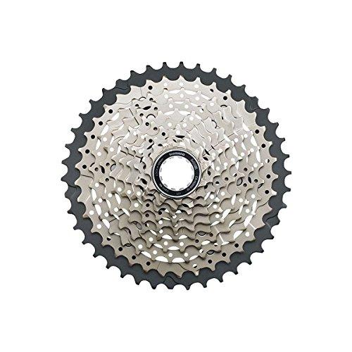 Rear Cassette Bike (JGbike Shimano DEORE 10-Speed 11-42T MTB Cassette CS-HG500 with 22mm Rear derailleur Link)