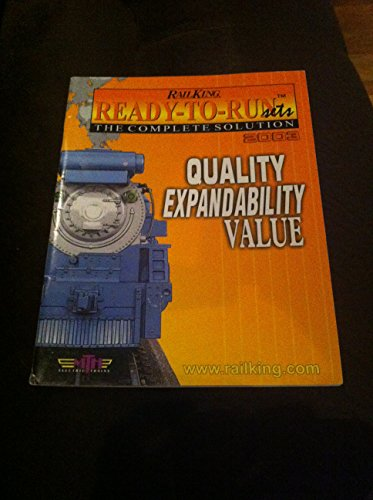 RailKing MTH Electric Trains 2003 catalog ~ Ready-To-Run sets the complete solution ~ Rail King M.T.H.