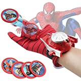 plutofit Spiderman Gloves with Disc Launcher