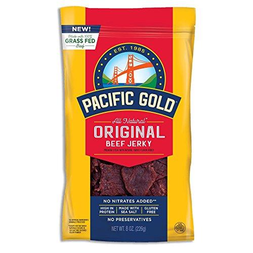 Pacific Gold Original Beef Jerky, 2-8oz bags ()