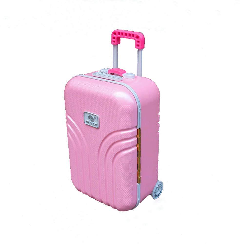 AMTOP Girl's Pink Music Suitcase Ballerina Music Jewelry Box Jewelry Keeper Dance Ballerina Music Box Mirror