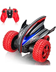 MaxTronic 2.4GHz Coche Radio Control Remoto, 30KM/h LED Exclusivo 360 Grados de Rebote Duradero Coche Teledirigido Monster Vehicle RC para Niños y Adultos