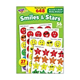 TREND enterprises, Inc. Smiles & Stars Stinky Stickers Variety Pack, 648 ct
