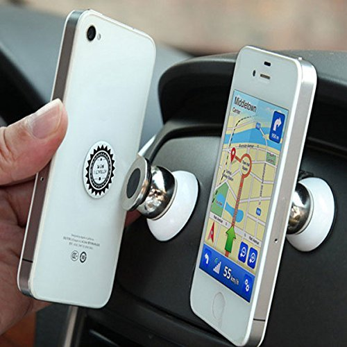Car Phone Holder Magnetic Mount in Car Compatible with LG K4 2017, K8 2017 / G4, G5, G6, G7, G7 One, G7 Fit/Nexus 4, Nexus 5, Nexus 5X | Strong Magnet Cell Phone Mobile Stand ()