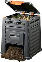 Keter - Compostador ECO, con capacidad de 320 L, Color gris oscuro ...