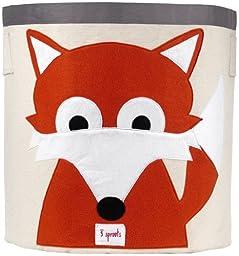 3 Sprouts Storage Bin, Fox