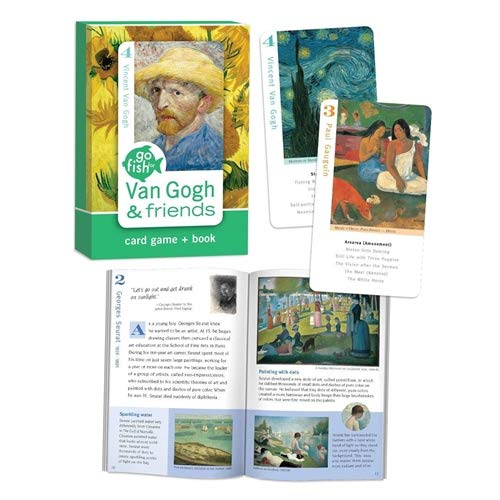 1 X Van Gogh & Friends, Go Fish for Art Cards and Book Card Game