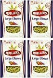 Muellers Large Elbow Pasta Macaroni, 16 Ounce (Pack of 4)