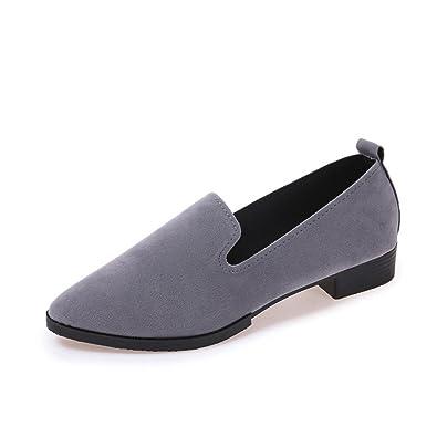 Femmes Mesdames Slip On Flat Sandals Chaussures de sport Solid Fashion Loafer rouge PmVXQ