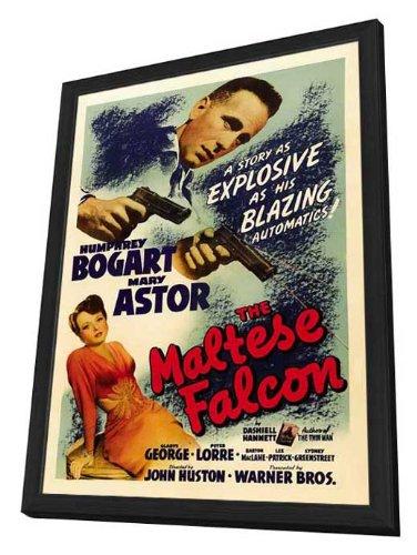 The Maltese Falcon Framed Movie Poster