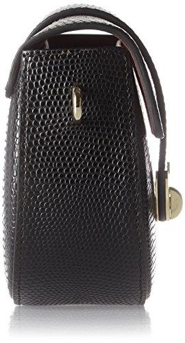 Tosca Blu Luna - Borse a secchiello Donna, Schwarz (Black), 7x15x18 cm (B x H T)