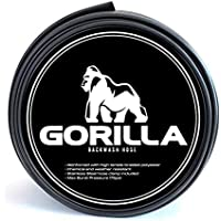 GORILLA Swimming Pool Backwash Hose with Clamp - Extra Heavy Duty - Weather and Chemical Resistant (25 FT)