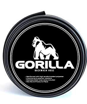 Gorilla Swimming Pool Backwash Hose With Clamp