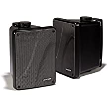 "Kicker KB6000 6.5"" Full Range Indoor/Outdoor/Marine Speakers - Black 11KB6000B"