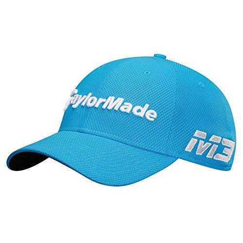 TaylorMade Golf 2018 Men's New Era Tour 39thirty Hat, Blue, ()