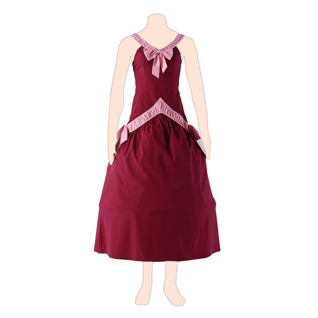 Fairy Tail cosplay costume Mirajane Strauss Ver.1 Red Dress Small