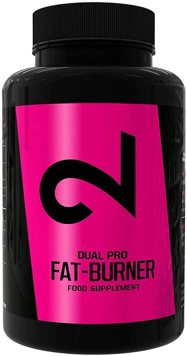 Dual Pro Fat-Burner Fatburner Pills for Men and Women 100 Vegan Caps Weight Loss Without Sports Natural Appetite Suppressant Extremely Strong Dietary Supplement Without Additives Made in USA