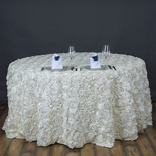 Cover Round Ivory Table (Efavormart 120