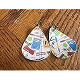 Teacher Earrings/Paper Earrings/Lightweight Earrings/Paper Earrings/Teach Appreciation
