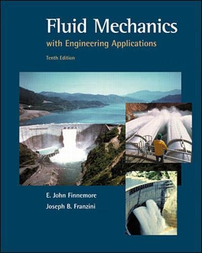 Fluid Mechanics With Engineering (Mechanics Textbook)