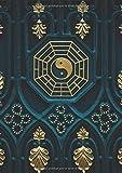DOT GRID JOURNAL A4: Carnet De Notes Pointillés Pour Bullet Journaling, Lettering, Art Notes | 110 Pages Avec Papier Pointillé | Dotted Notebook Cahier | Yin Yang