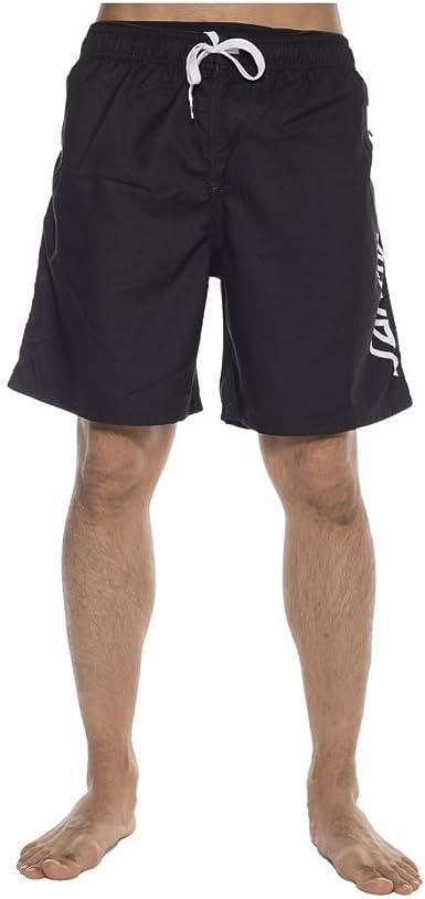 Santa Cruz Bañador (Boardshort) Strip Boardie Negro Talla: 30 USA ...