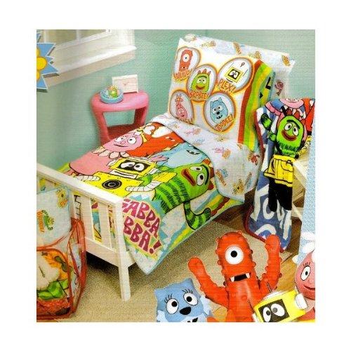 Yo Gabba Gabba 10-Piece Toddler Room In A Bag]()