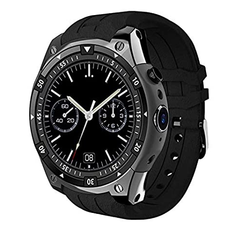 Amazon.com: Black Bond X100 MTK6580 3G Smart Watch Android ...