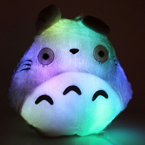 Studio Ghibli Halloween (E-MART Totoro Shape Pillow with LED Colorful Light,)