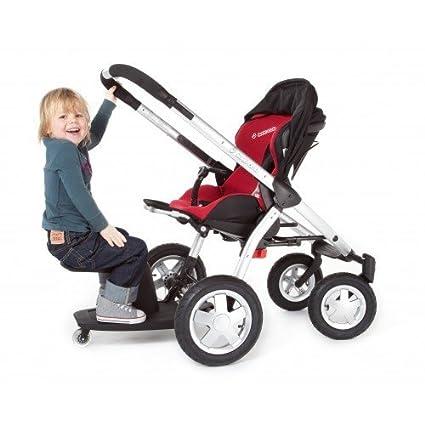 Kleine Dreumes Kid Sit Wheel Board and Seat - Orange by ...