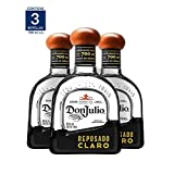Tequila Don Julio Reposado Claro 700ML (Paquete de 3 botellas)