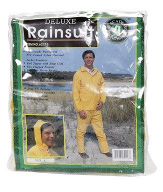 Deluxe Rainsuit Pvc Coated Nylon ()