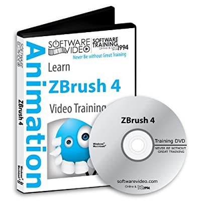 Software Video Learn ZBrush 4 Training DVD Sale 60% Off training video tutorials DVD- Over 5 Hours of Video Training
