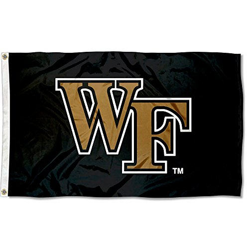 Wake Forest Demon Deacons Black Flag