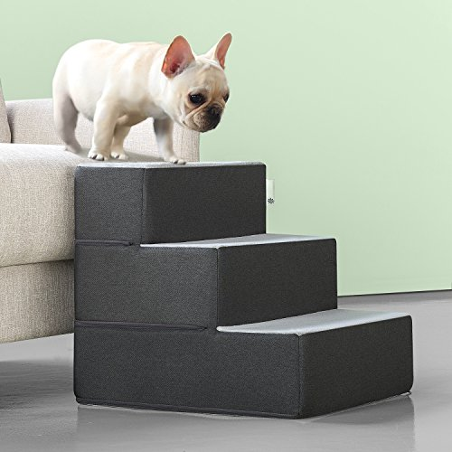 Zinus 2 Step Easy Pet Stairs Pet Ramp Pet Ladder