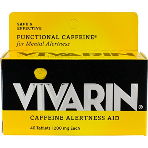 - Vivarin Brand Alertness Aid, 40 Tablets