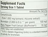 Source Naturals Turmeric 1000 95% Curcumin 1,000mg Inhibits Metabolic Inflammation - Herbal Antioxidant with Bioperine Supports Healthy Inflammatory Response and Joint Pain Relief - 120 Tablets
