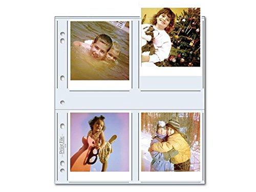 Print File 448P 4x4.5 Print Preservers (100 Pack) by Print File