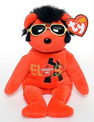 TY Beanie Baby 2010 red, Your teddy Bear , Elvis 2010 Ty Beanie Baby