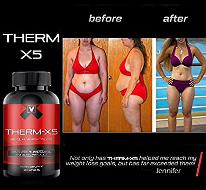 Therm X5 No 1 Weight Loss Supplement Thermogenic Fat Burner Appetite Suppressant
