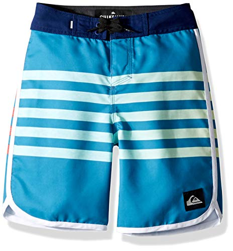 Quiksilver Big Boys' Everyday Grass Roots Youth 17 BOARSHORT Swim Trunk, Southern Ocean, 27